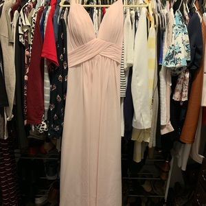 b504d6cbb52 Pink Azazie Bridesmaid dress.